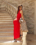 Вечірнє плаття жіноче Костюмка Розмір 42 44 46 48 В наявності 4 кольори, фото 3