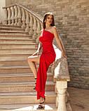 Вечірнє плаття жіноче Костюмка Розмір 42 44 46 48 В наявності 4 кольори, фото 5
