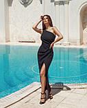 Вечірнє плаття жіноче Костюмка Розмір 42 44 46 48 В наявності 4 кольори, фото 7