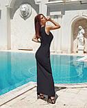 Вечірнє плаття жіноче Костюмка Розмір 42 44 46 48 В наявності 4 кольори, фото 6