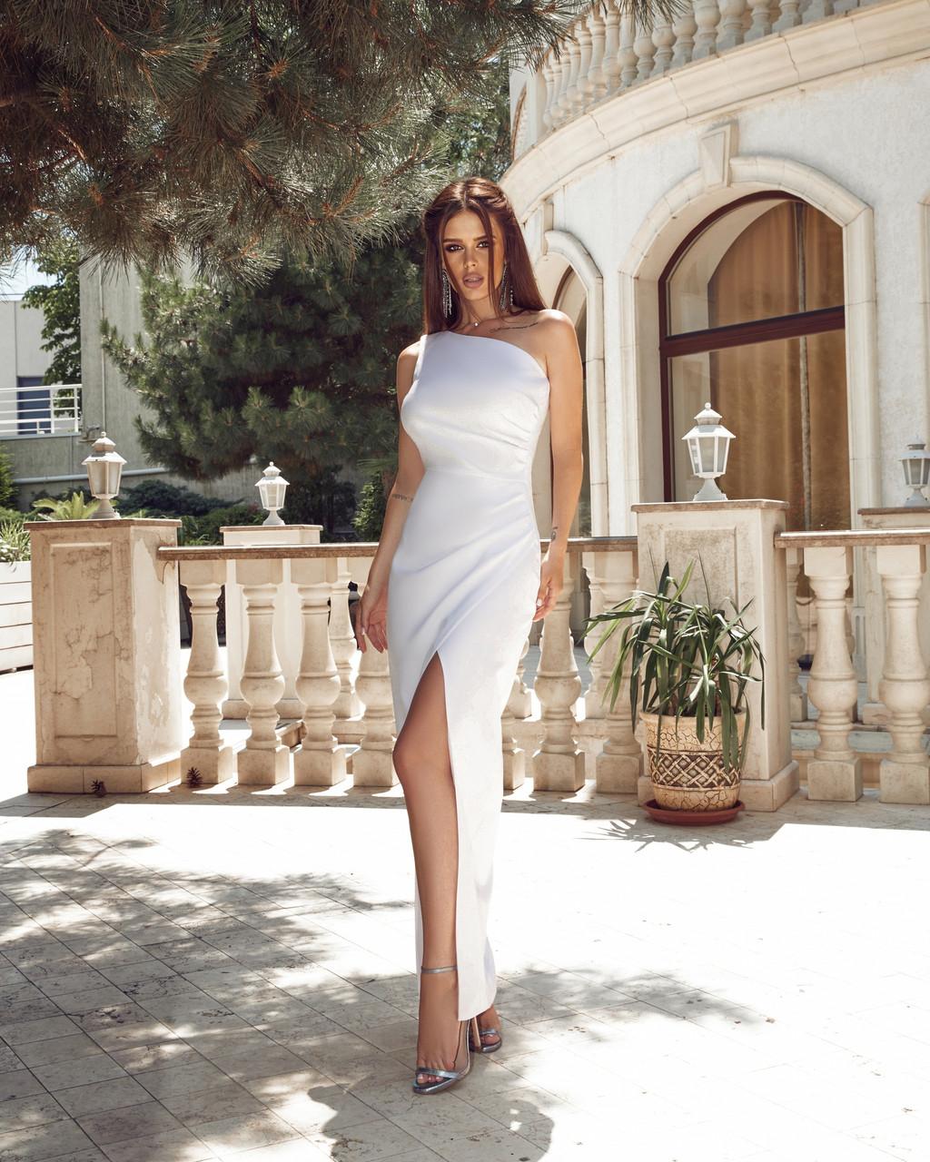 Вечірнє плаття жіноче Костюмка Розмір 42 44 46 48 В наявності 4 кольори