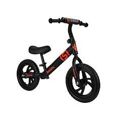 Дитячий беговел Baishs HS-A313 Black безпедальний велосипед для дітей двоколісний
