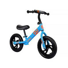 Дитячий беговел Baishs HS-A313 Blue безпедальний велосипед для дітей двоколісний
