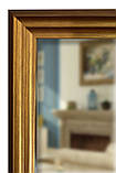 Дзеркало підлогове в золотій рамі 1650х400, фото 5