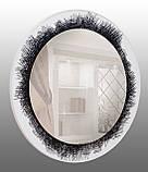 Кругле дзеркало, діаметр 600 мм, фото 2