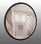 Дзеркало кругле 800 мм венге, фото 2