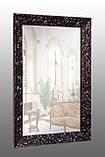 Зеркало в черной раме глянец, фото 3