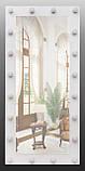 Ростовое зеркало с лампочками 1500х700 мм, фото 5