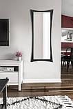 Дзеркало настінне, чорно -біле 1300х550 мм, фото 5