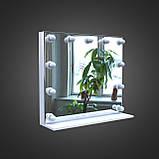 Гримерное ( визажное ) дзеркало з підсвічуванням 700х800мм, фото 2