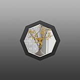 Восьмиугольное зеркало с фацетом ( круглое ) 600 мм, фото 3