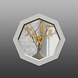 Восьмиугольное зеркало с фацетом ( круглое ) 800 мм, фото 3