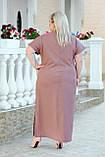 Сукня жіноча ошатне Батал (Арт. KL351/B/Chocolate), фото 2
