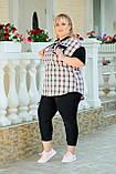Костюм жіночий прогулянковий Батал (Арт. KL352/B/Black), фото 3