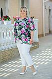 Костюм жіночий ошатний Батал (Арт. KL358/B/White), фото 4