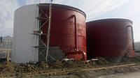Резервуар вертикальный стальной РВС-300 м³ м.куб для воды с монтажом, изготовление резервуаров