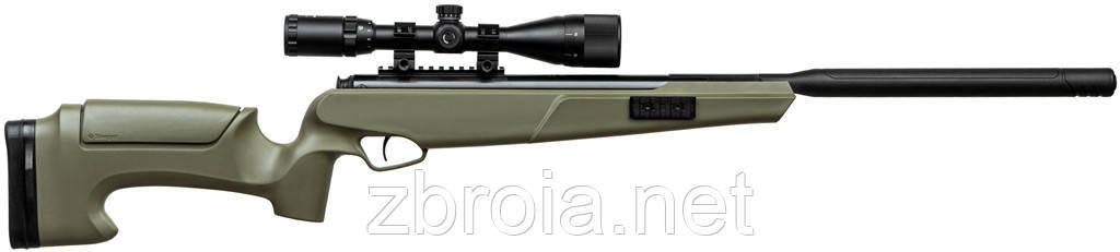 Пневматична гвинтівка Stoeger ATAC TS2 Synthetic Stock Green Combo + Приціл 3-9х40АО