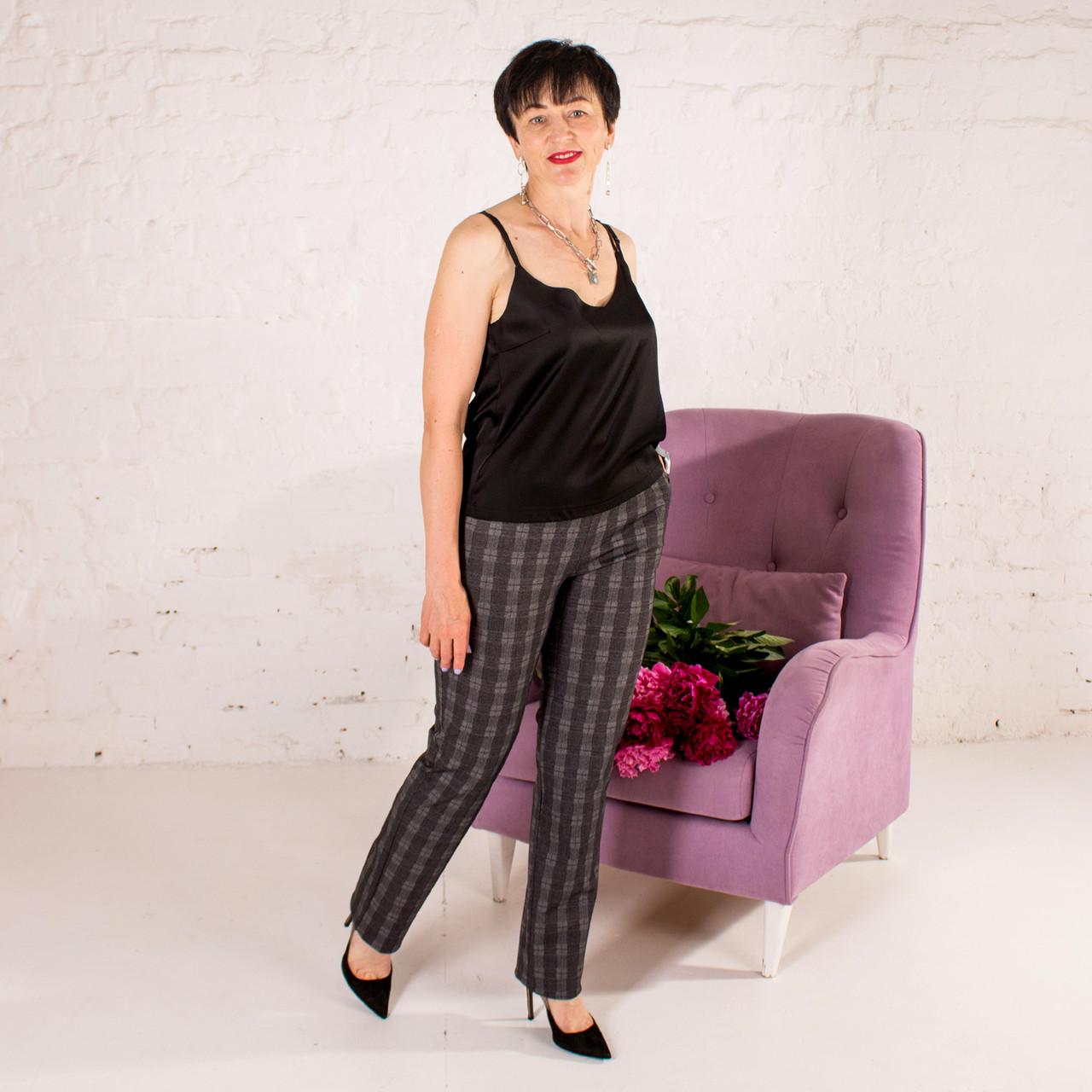 Женские брюки на резинке Вирджиния клитка