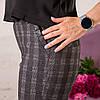 Женские брюки на резинке Вирджиния клитка, фото 4