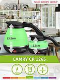 Чайник электрический силиконовый Camry CR 1265, фото 6