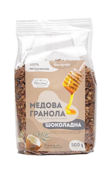 Гранола Шоколадна в плівці Oats&Honey 500 г