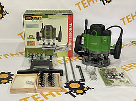 Фрезер ручной ProCraft POB-2400 с набором фрез 12шт