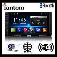Автомагнитола 2 din android 9 WiFi bluetooth gps Fantom Fp-7098