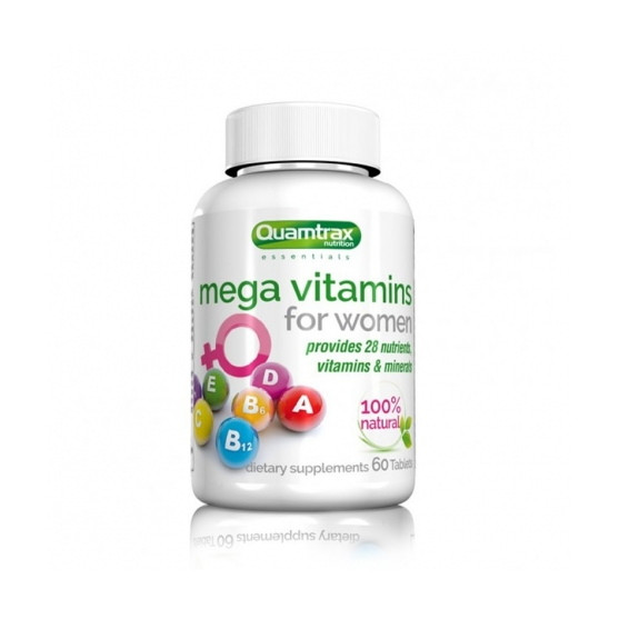 Quamtrax Mega Vitamins for Women 60 таблеток