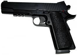 Пистолет KWC KM42DHN Colt M1911( в металле )