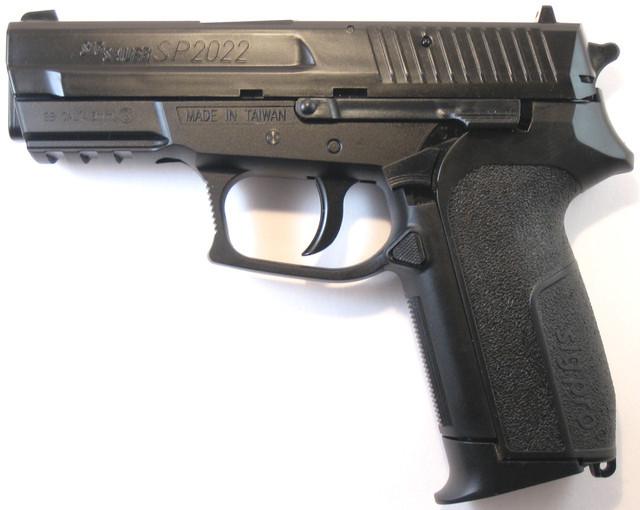 Пістолет KWC KM47DHN Sig Sauer 2022 (у металі)