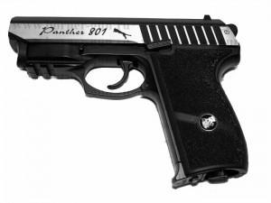 Пистолет Borner Panther 801(Blowback) с лазерным целеуказателем