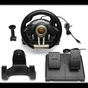 Ігровий мультимедійний універсальний кермо з педалями PXN V3 PRO (PC/PS3/PS4/X-ONE/SWITCH)