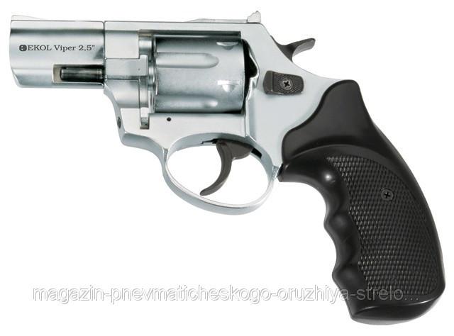 """Револьвер Флобера  Ekol Viper 2,5"""" Chrome"""