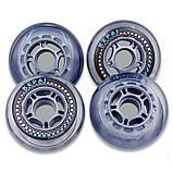 Колеса для роликовых коньков (4шт) KEPAI SK-0800 (колесо PU, р-р 80х24мм, без подшипников), фото 3