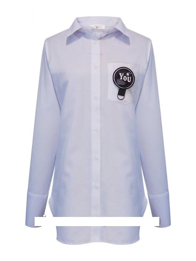 Детская рубашка школьная, белая, с рукавом от Lucky Talin | 8-16 лет