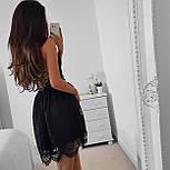 Літній гіпюрову коротке плаття з відкритою спинкою і розкльошеною спідницею (р. 42-46) 48032725, фото 3