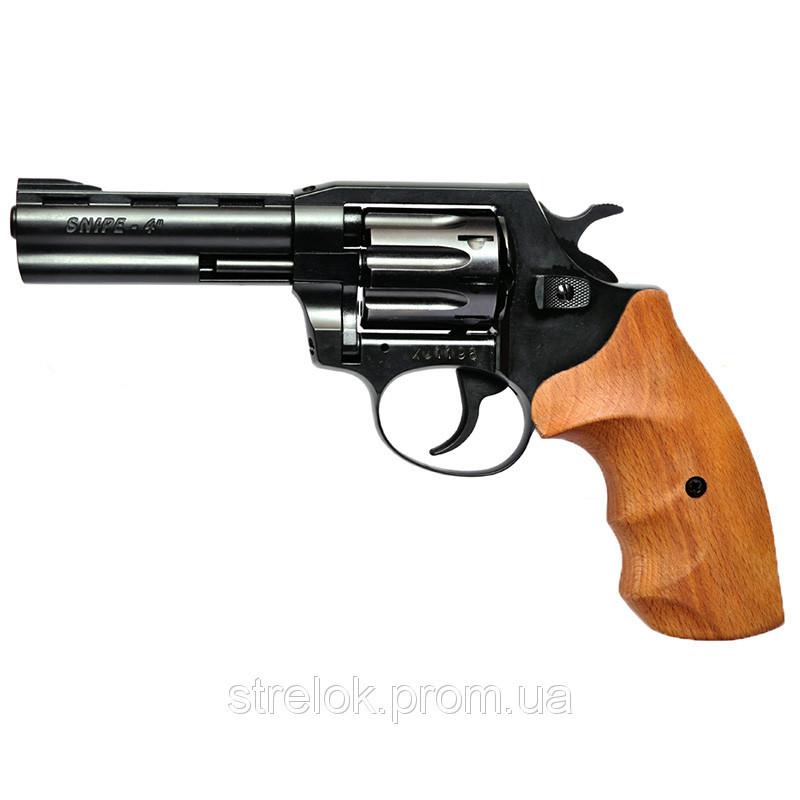 """Револьвер Флобера Snipe 4"""" (рукоять бук)"""