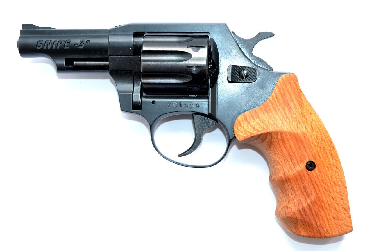 """Револьвер Флобера Snipe 3"""" (рукоять бук)"""