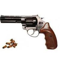 "Револьвер Флобера Trooper 4.5"" пластик под дерево"