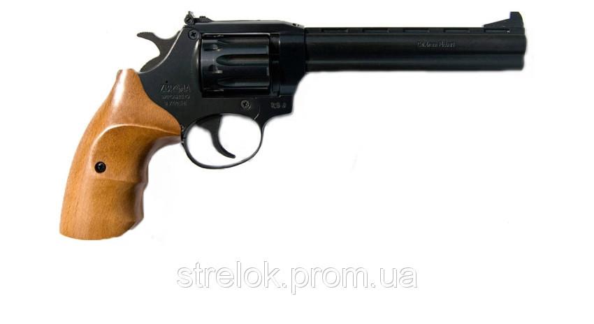 """Револьвер Флобера Snipe 6"""" (рукоять бук)"""