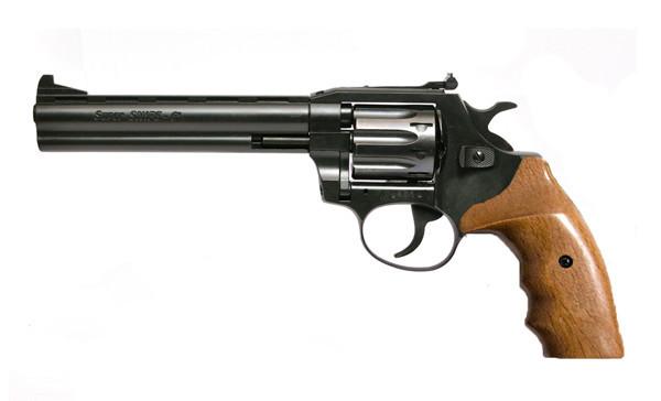 "Револьвер Флобера Snipe 6"" (рукоять горіх)"