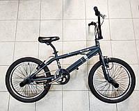 """Трюковый велосипед BMX Crosser Cobra 20"""" темно-зеленый"""