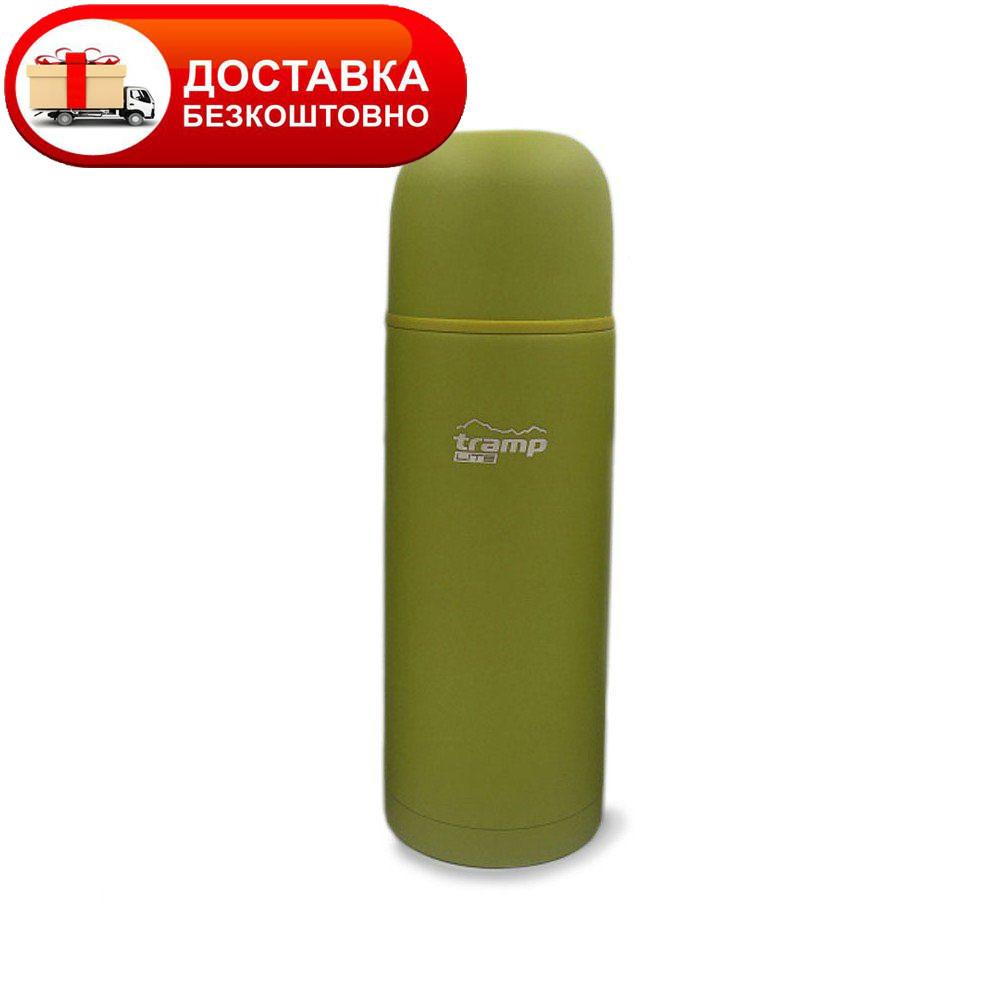 Оригинальный термос Tramp TLC-007 объем 1,2 л. оливковый