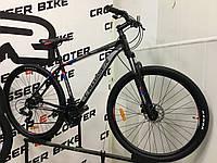 """Велосипед найнер Crosser Thomas 29"""" рама 19 черно-красный"""