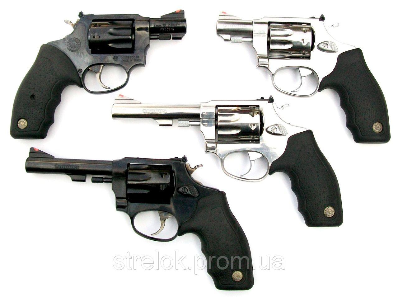 """Револьвер Флобера Taurus 4"""" Black"""