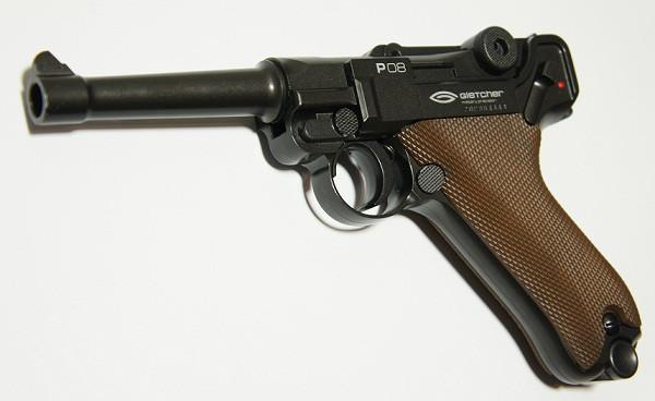 Пистолет Gletcher P08 (PARABELLUM)