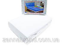Комплект махровая простынь на резинке 220*240+25 см и 2 наволочки 50*70см цвет белый