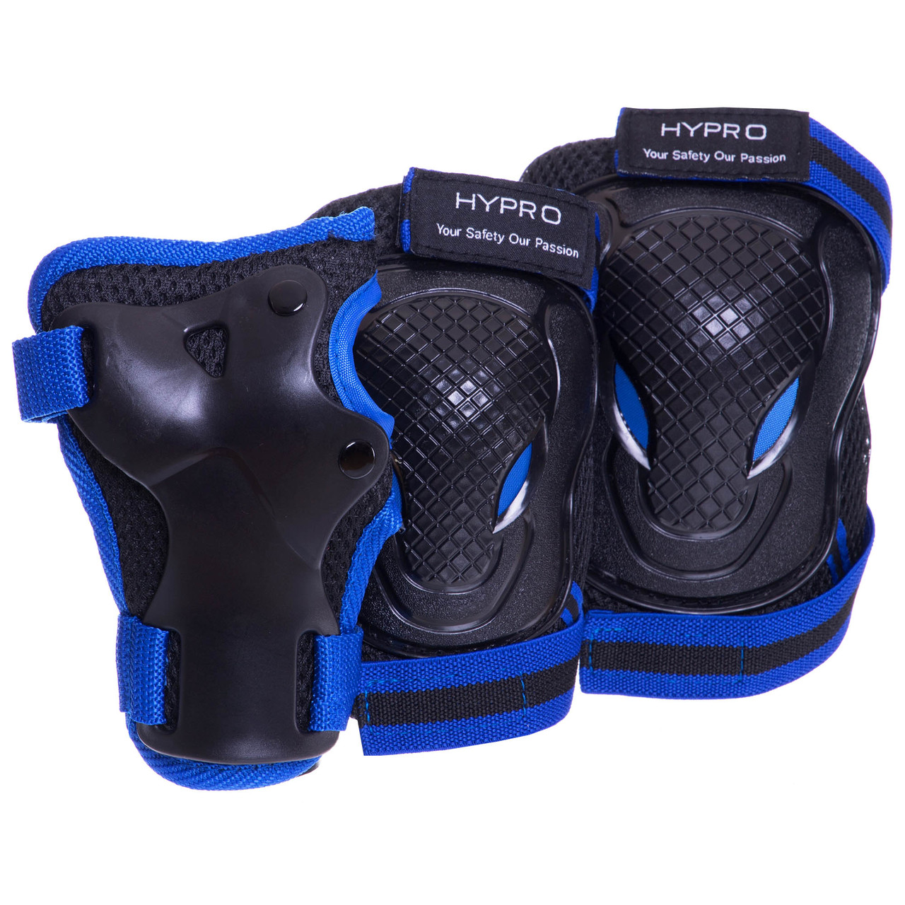 Захист дитяча наколінники, налокітники, рукавички Hypro 6967, розмір M (8-12 років)