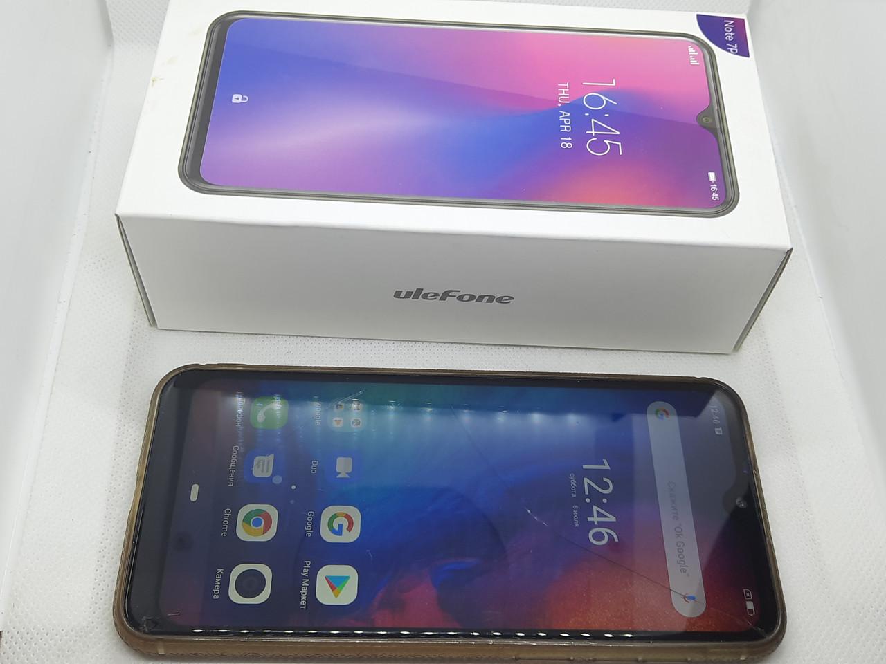 Ulefone Note 7P 3/32Gb Gold #8057 на запчастини