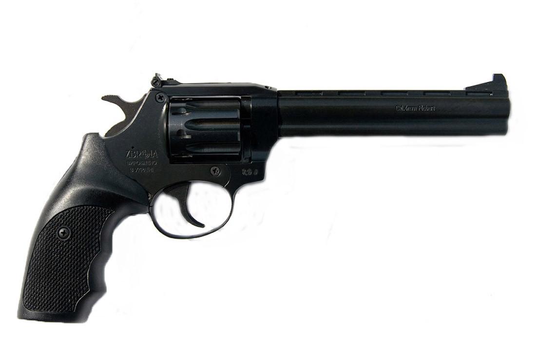 Револьвер Флобера SNIPE 6 (пластик)